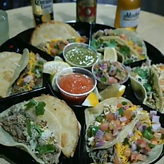 Taco Platter of 8 Assorted