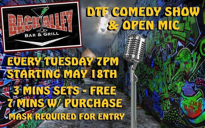 Fullerton Comedy Show Downtown Fullerton