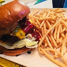 Western Bacon Cheese Burger