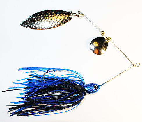 4/0 Bass-Ta-Baiter Spinner Bait Sapphire Blue