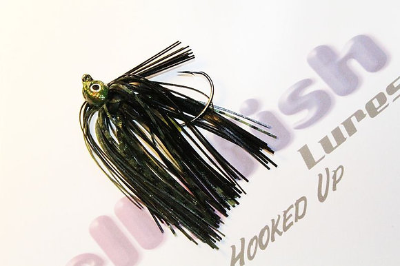 Dune Bug Flipping Jig with 2 chunk baits