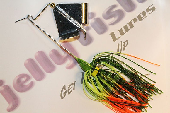 4/0 Buzz Bait - Candy Yellow with 1/4 oz head