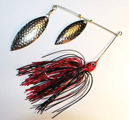 4/0 Bass-Ta-Baiter Spinner Bait - Red Bug