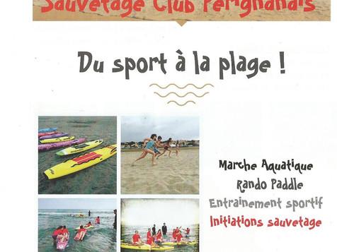 Du sport à la plage, tout l'été ! notre planning estival