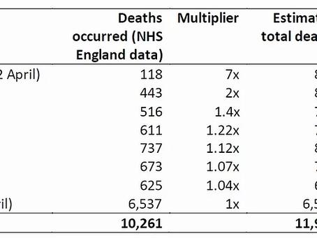 Interpreting the Death Data