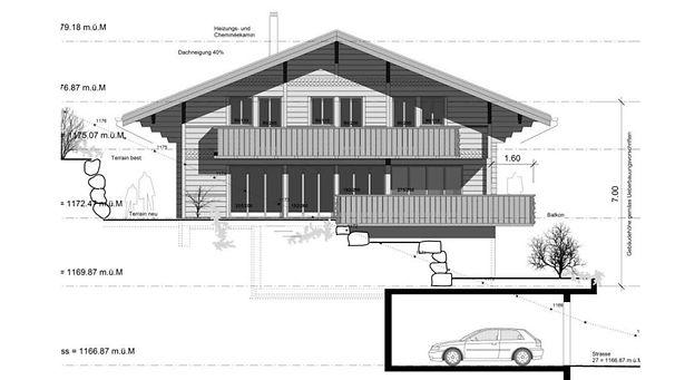 Chalet, Holzbau Immobilien