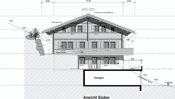 Chalet, Holzbau, Immobilien