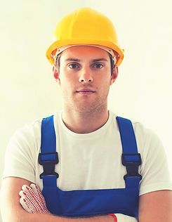 Handyman with Yellow Helmet