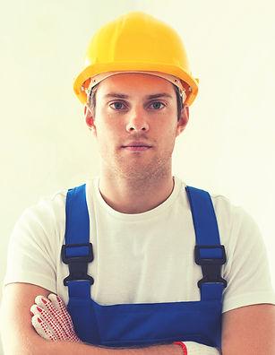 Handyman with Yellow Helmet
