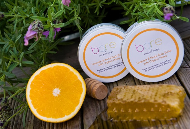 Lavender & Neroli Natural Body Butter with Organic Honey