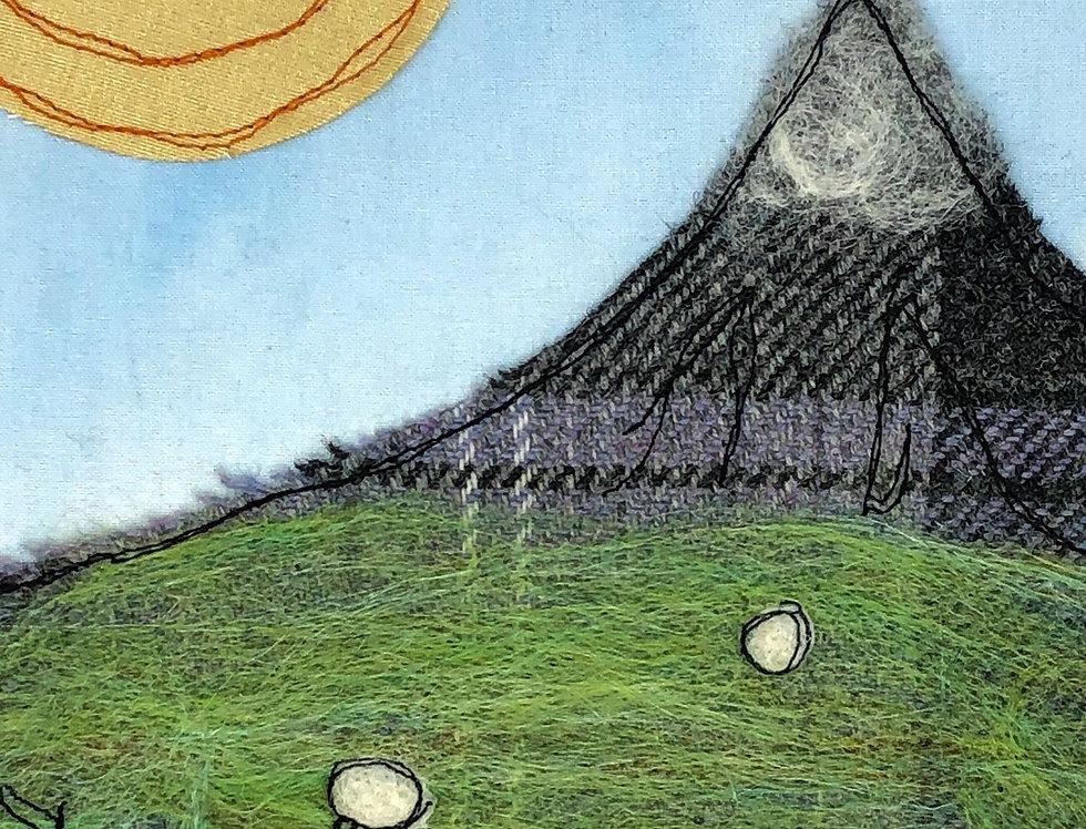 Print of Original Artwork - Mountain View