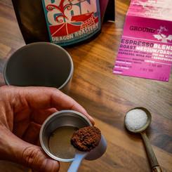 Dragon Roastery coffee in the making