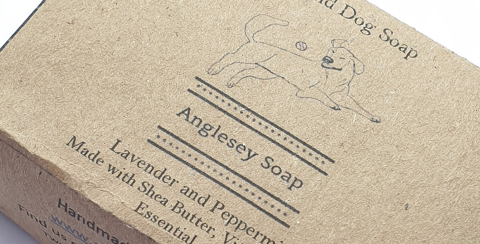 Dog Soap - Lavender and Peppermint