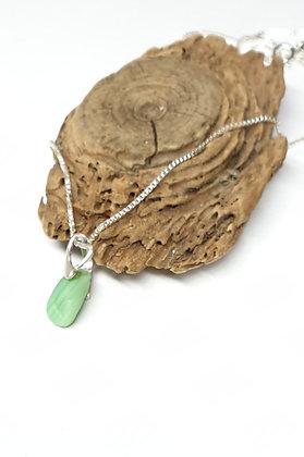 Child's seaglass pendant