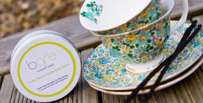 Green Tea & Vanilla Natural Body Butter