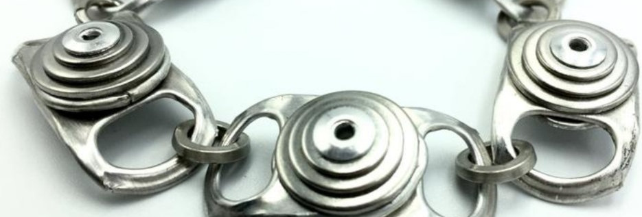 Ring-pull and washer bracelet (2 sizes available)