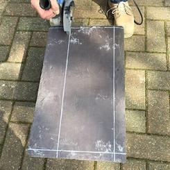 Cutting the slate
