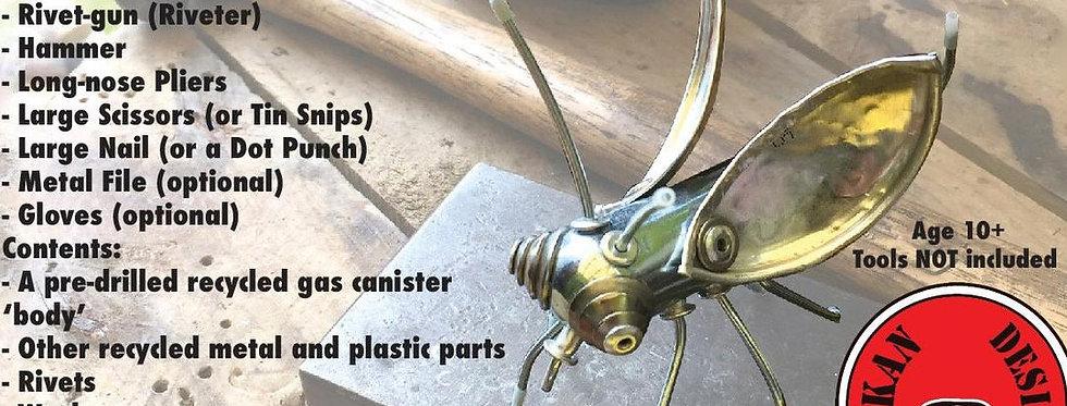 Make a Mini Metal Bug Kit - DIY