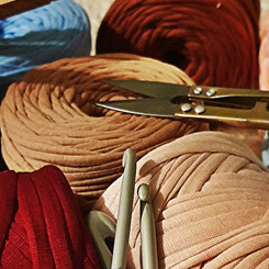 Ethical recycled yarns