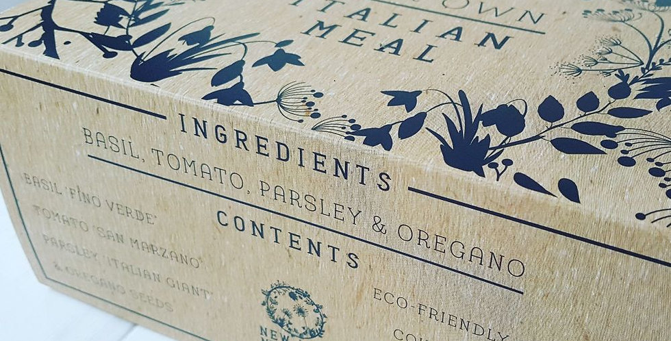 Italian Meal - Grown Your Own Kit