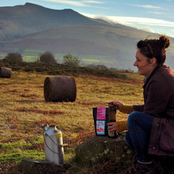 Freshly ground coffee, roasted on the island of Anglesey