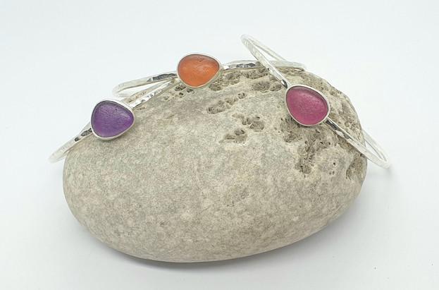 sea glass and beach rubbish jewellery