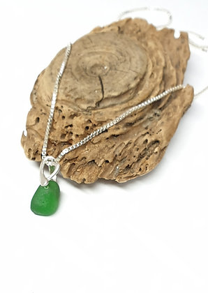 Child's seaglass pendant