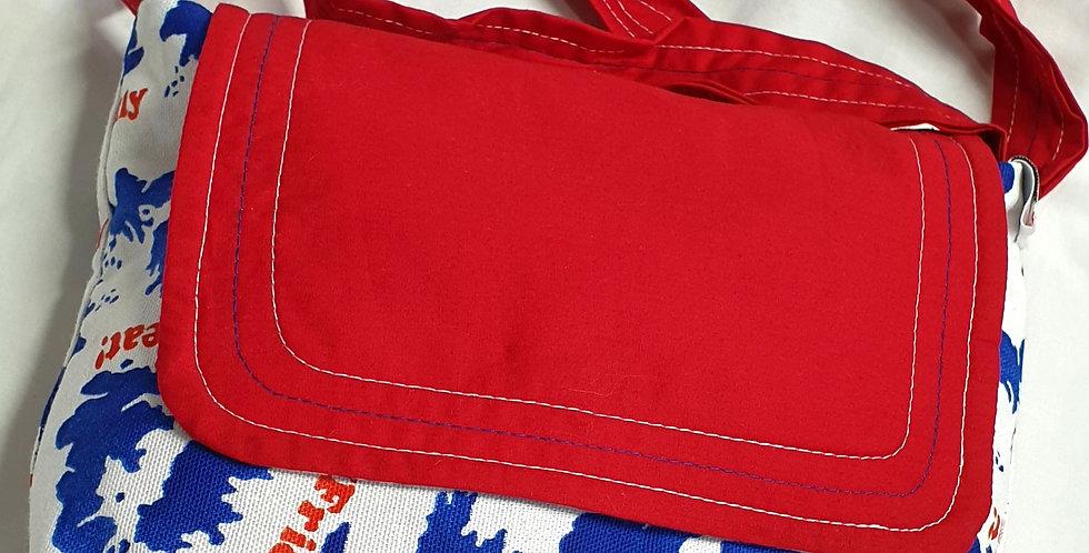 Upcycled Shoulder Bag