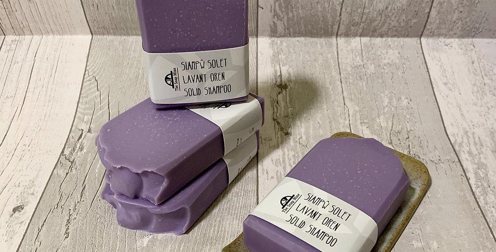 Lavender and Orange Shampoo Bar