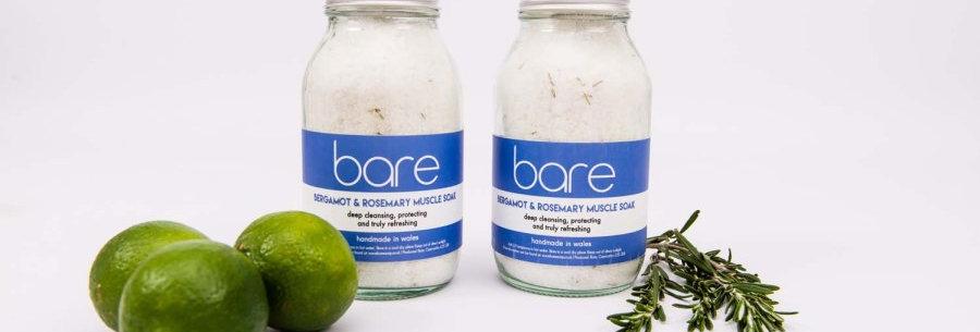 Bergamot & Rosemary Natural Muscle Soak