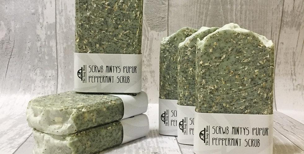 Peppermint Scrub - Handmade Luxury Soap