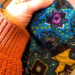 Selecting the fabrics