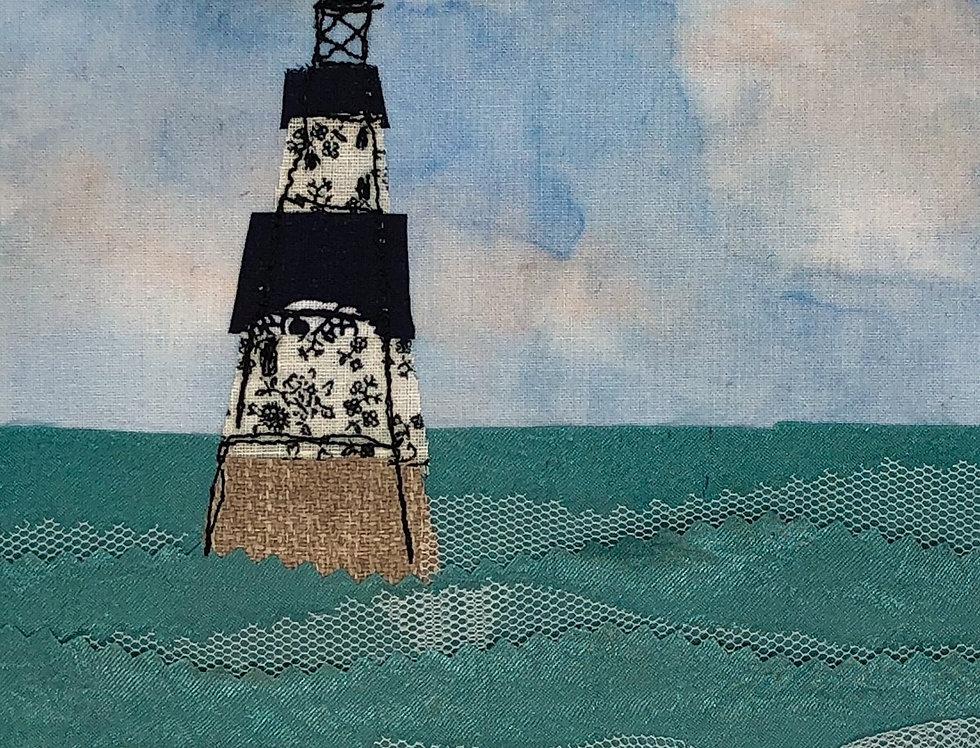 Print of Original Artwork - Penmon Lighthouse