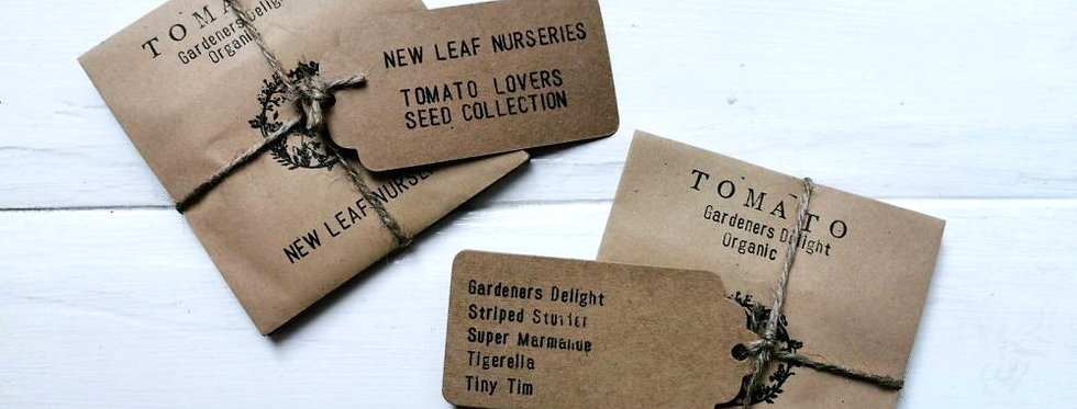 Tomato Lovers seed collection