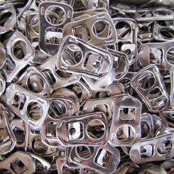Recycling, re-using and repurposing ring-pulls