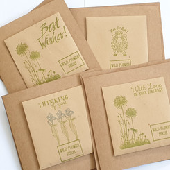 Wild seed greeting cards