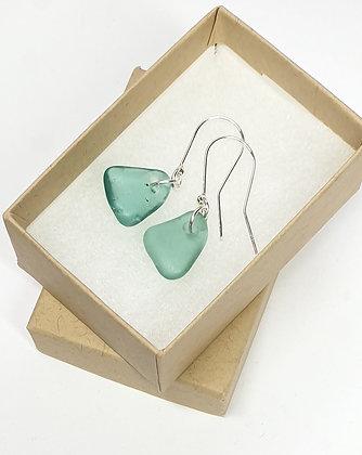 Elegant, turquoise earrings