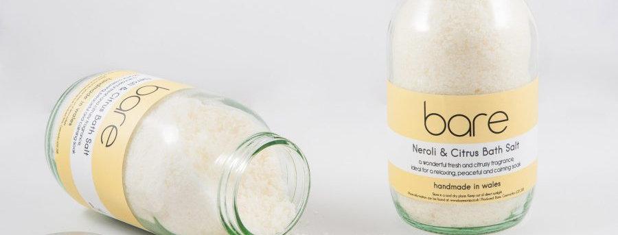 Neroli and Citrus Bath Salts