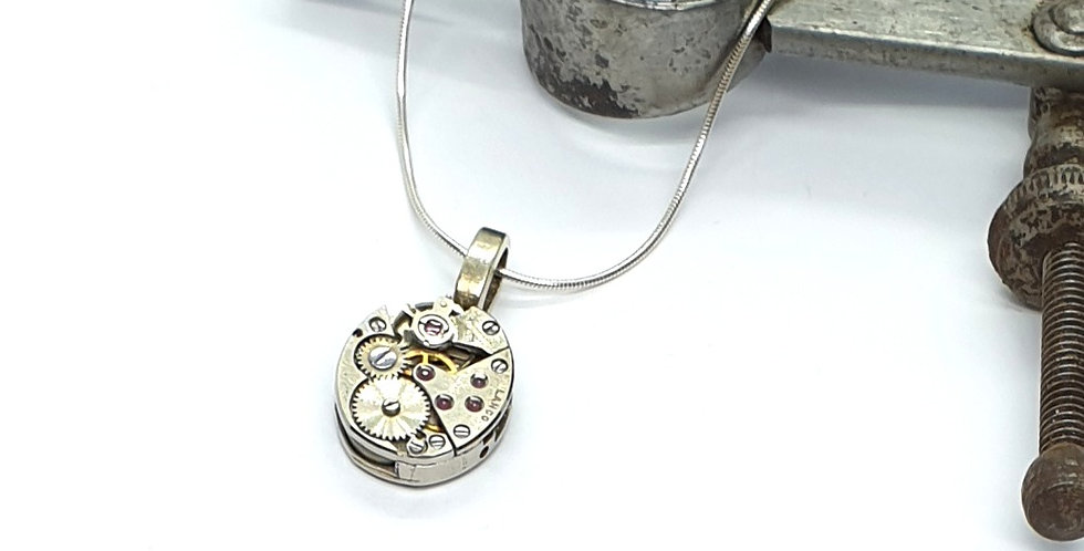 Watch mechanism pendant