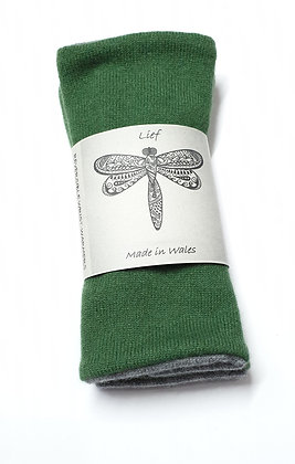 Reversible Cashmere Wristwarmers