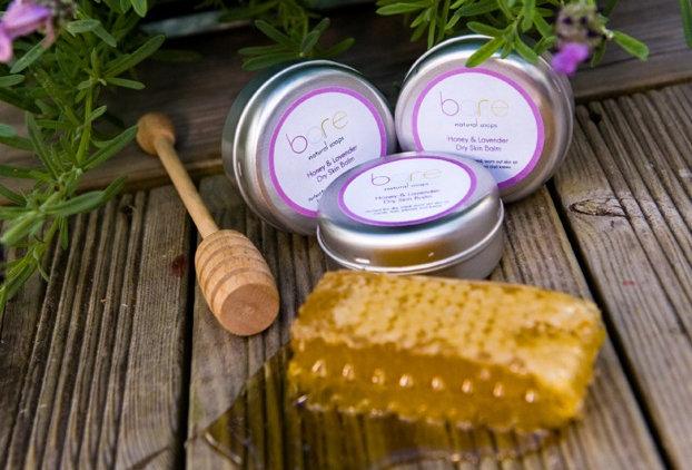Honey & Lavender Natural Dry Skin Balm