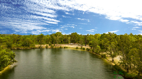 Minninup Pool, Collie River.