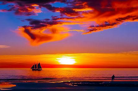 Sunset - Cable Beach, Broome, Western Australia.