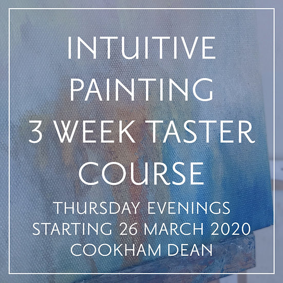 Intuitive Painting 3-Week Taster Course