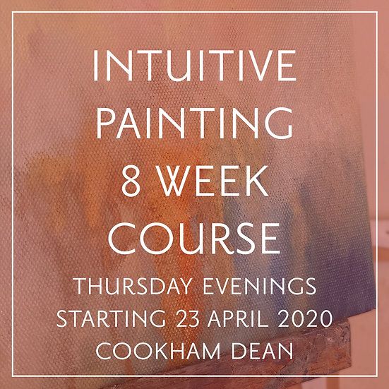 Intuitive Painting 8-Week Taster Course