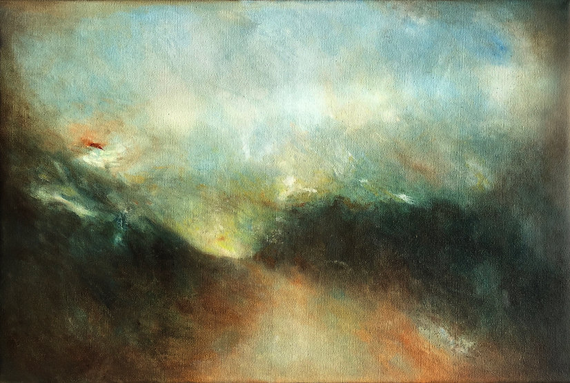 'NOW IS HERE' by Claire Hunter-Rodwell