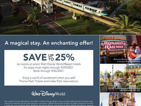 Theme Park Update 9/22/21