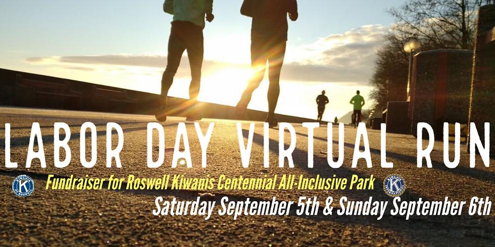 Labor Day Virtual Run!