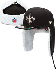 Sz 7 3/8 N.O. Saints Winter hat