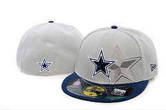 Sz 7 1/8 :Dallas Cowboys fitted hat